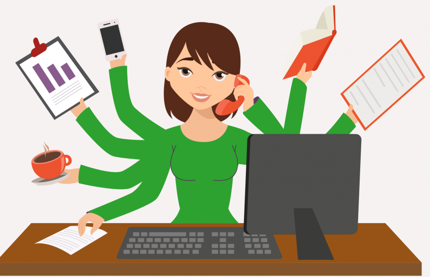 Multitasking Im Buro Geht Das Wirklich Office Coach Psychologie
