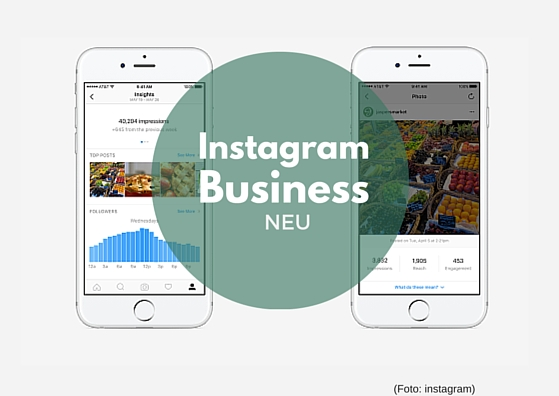 Instagram Business , neu socialmedia , facebook-tochter